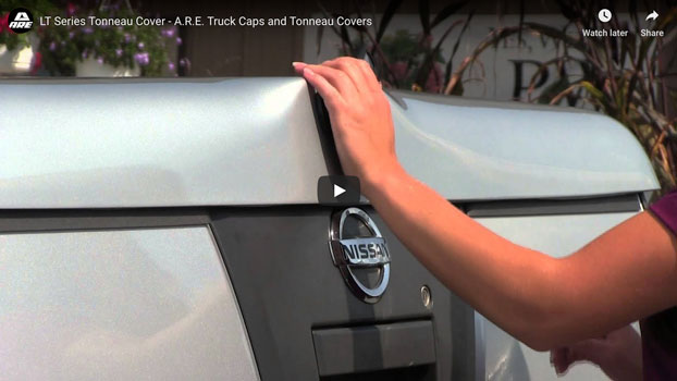 LT Series Tonneau Cover - A.R.E. Truck Caps and Tonneau Covers